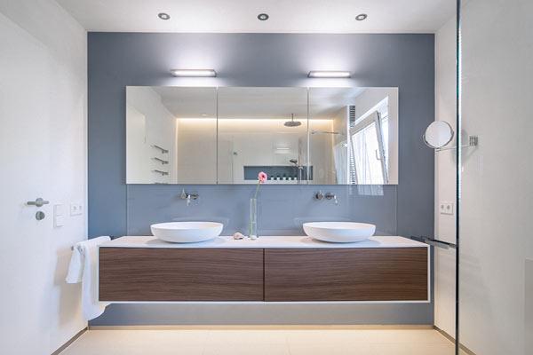 Licht Im Bad Gekonnt Inszeniert MEISTER DER ELEMENTE - Lichtplanung badezimmer