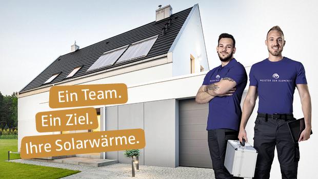 Eine Solarwärmeanlage sollte von einem Fachunternehmen installiert werden, wenn sie optimale Leistung bringen soll.