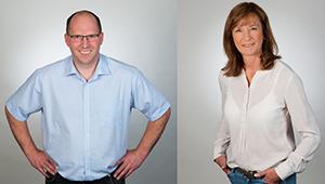 Sven Noltenhans und Andrea Werner